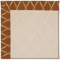 Capel Rugs Creative Concepts White Wicker - Bamboo Cinnamon (856) Runner 2
