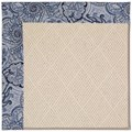 Capel Rugs Creative Concepts White Wicker - Paddock Shawl Indigo (475) Runner 2