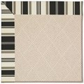 Capel Rugs Creative Concepts White Wicker - Down The Lane Ebony (370) Runner 2