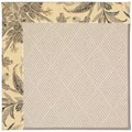 Capel Rugs Creative Concepts White Wicker - Cayo Vista Graphic (315) Rectangle 3