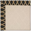 Capel Rugs Creative Concepts White Wicker - Bamboo Coal (356) Rectangle 3