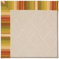 Capel Rugs Creative Concepts White Wicker - Kalani Samba (224) Rectangle 4