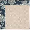 Capel Rugs Creative Concepts White Wicker - Bandana Indigo (465) Rectangle 4