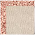 Capel Rugs Creative Concepts White Wicker - Imogen Cherry (520) Rectangle 4