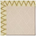 Capel Rugs Creative Concepts White Wicker - Bamboo Rattan (706) Rectangle 4