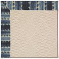 Capel Rugs Creative Concepts White Wicker - Java Journey Indigo (460) Rectangle 4