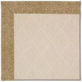 Capel Rugs Creative Concepts White Wicker - Tampico Rattan (716) Rectangle 7