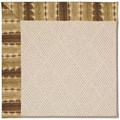 Capel Rugs Creative Concepts White Wicker - Java Journey Chestnut (750) Rectangle 7