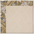 Capel Rugs Creative Concepts White Wicker - Bahamian Breeze Ocean (420) Rectangle 8