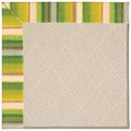Capel Rugs Creative Concepts White Wicker - Kalani Fresco (239) Rectangle 12