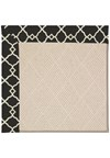Capel Rugs Creative Concepts White Wicker - Arden Black (346) Rectangle 12' x 15' Area Rug