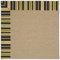 Capel Rugs Creative Concepts Sisal - Vera Cruz Coal (350) Octagon 4