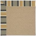 Capel Rugs Creative Concepts Sisal - Long Hill Ebony (340) Octagon 10