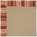 Capel Rugs Creative Concepts Sisal - Java Journey Henna (580) Octagon 10
