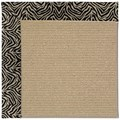 Capel Rugs Creative Concepts Sisal - Wild Thing Onyx (396) Octagon 12
