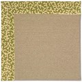 Capel Rugs Creative Concepts Sisal - Coral Cascade Avocado (225) Rectangle 3