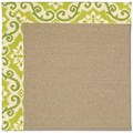 Capel Rugs Creative Concepts Sisal - Shoreham Kiwi (220) Rectangle 4