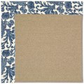 Capel Rugs Creative Concepts Sisal - Batik Indigo (415) Rectangle 6