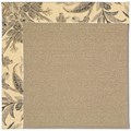 Capel Rugs Creative Concepts Sisal - Cayo Vista Graphic (315) Rectangle 8