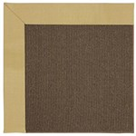 Capel Rugs Creative Concepts Java Sisal - Canvas Wheat (167) Octagon 4' x 4' Area Rug