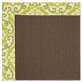 Capel Rugs Creative Concepts Java Sisal - Shoreham Kiwi (220) Octagon 4