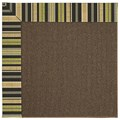 Capel Rugs Creative Concepts Java Sisal - Vera Cruz Coal (350) Octagon 4