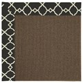Capel Rugs Creative Concepts Java Sisal - Arden Black (346) Octagon 6