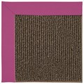 Capel Rugs Creative Concepts Java Sisal - Canvas Hot Pink (515) Octagon 6