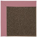 Capel Rugs Creative Concepts Java Sisal - Canvas Coral (505) Octagon 8