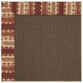 Capel Rugs Creative Concepts Java Sisal - Java Journey Henna (580) Octagon 10