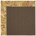 Capel Rugs Creative Concepts Java Sisal - Tuscan Vine Adobe (830) Rectangle 4