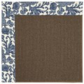 Capel Rugs Creative Concepts Java Sisal - Batik Indigo (415) Rectangle 6