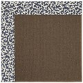 Capel Rugs Creative Concepts Java Sisal - Coral Cascade Navy (450) Rectangle 6