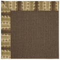 Capel Rugs Creative Concepts Java Sisal - Java Journey Chestnut (750) Rectangle 7