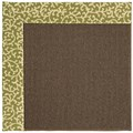 Capel Rugs Creative Concepts Java Sisal - Coral Cascade Avocado (225) Rectangle 8