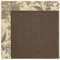 Capel Rugs Creative Concepts Java Sisal - Cayo Vista Graphic (315) Rectangle 8