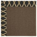 Capel Rugs Creative Concepts Java Sisal - Bamboo Coal (356) Rectangle 8