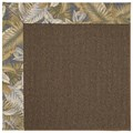 Capel Rugs Creative Concepts Java Sisal - Bahamian Breeze Ocean (420) Rectangle 8