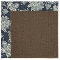 Capel Rugs Creative Concepts Java Sisal - Bandana Indigo Blue (465) Rectangle 9