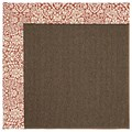 Capel Rugs Creative Concepts Java Sisal - Imogen Cherry (520) Rectangle 9