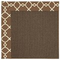 Capel Rugs Creative Concepts Java Sisal - Arden Chocolate (746) Rectangle 9