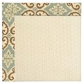 Capel Rugs Creative Concepts Sugar Mountain - Shoreham Spray (410) Octagon 10