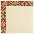 Capel Rugs Creative Concepts Sugar Mountain - Shoreham Brick (800) Octagon 12