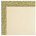 Capel Rugs Creative Concepts Sugar Mountain - Coral Cascade Avocado (225) Rectangle 3