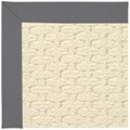 Capel Rugs Creative Concepts Sugar Mountain - Canvas Charcoal (355) Rectangle 8