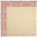 Capel Rugs Creative Concepts Beach Sisal - Imogen Cherry (520) Octagon 12