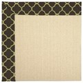Capel Rugs Creative Concepts Beach Sisal - Canvas Antique Beige (717) Octagon 12