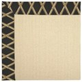 Capel Rugs Creative Concepts Beach Sisal - Bamboo Coal (356) Rectangle 3