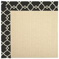 Capel Rugs Creative Concepts Beach Sisal - Arden Black (346) Rectangle 12