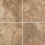 "Daltile Esta Villa: Cottage Brown 12"" x 24"" Glazed Porcelain Tile EV991224P1P2"